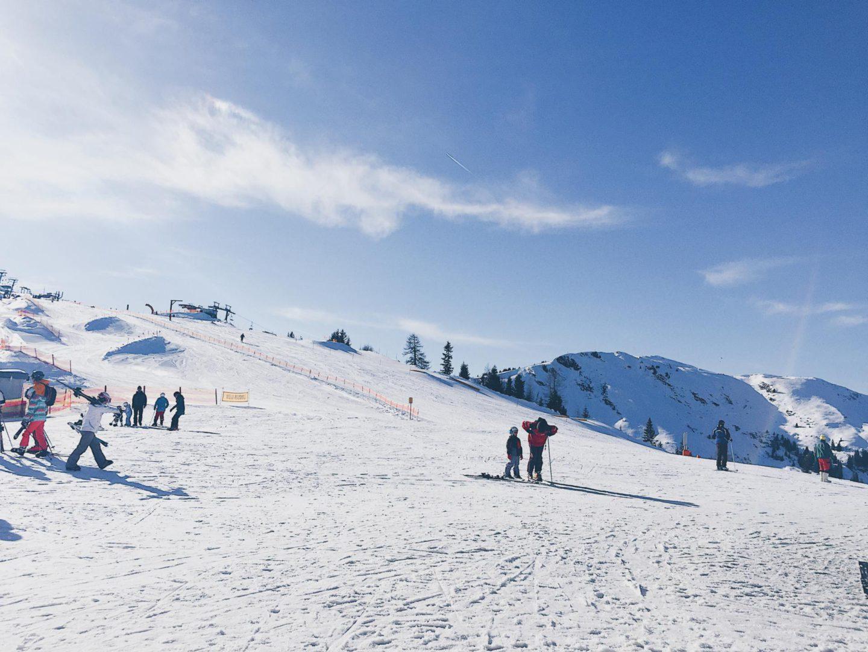 Even bijkletsen: wintersport 2017 in Grossarl was geweldig