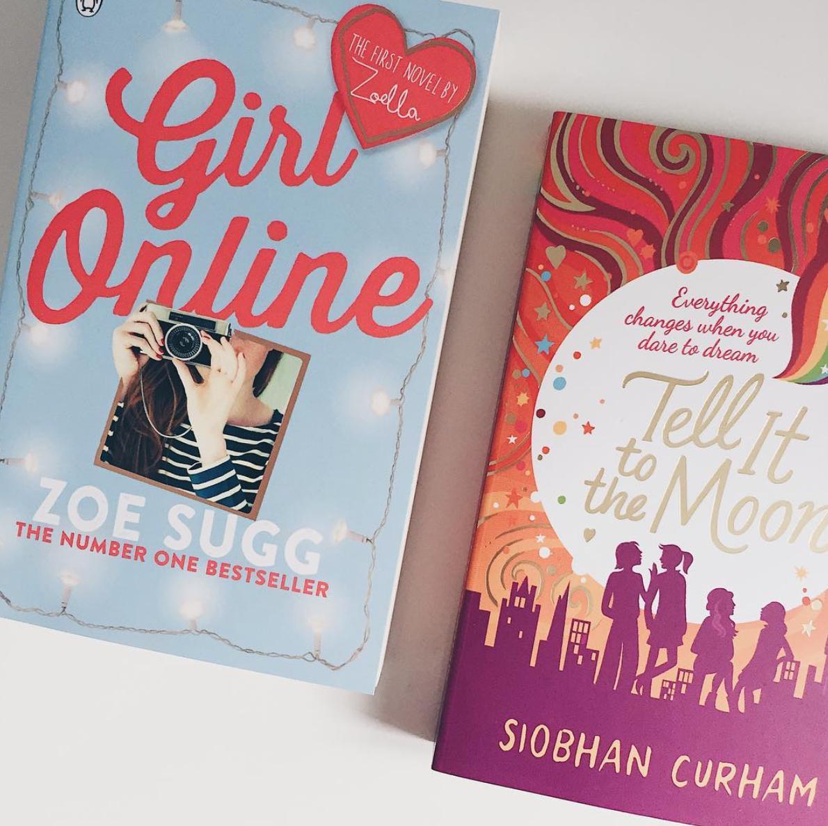 Fenna's boekclub: Girl online van Zoe Sugg, bloggen en angstaanvallen  #3