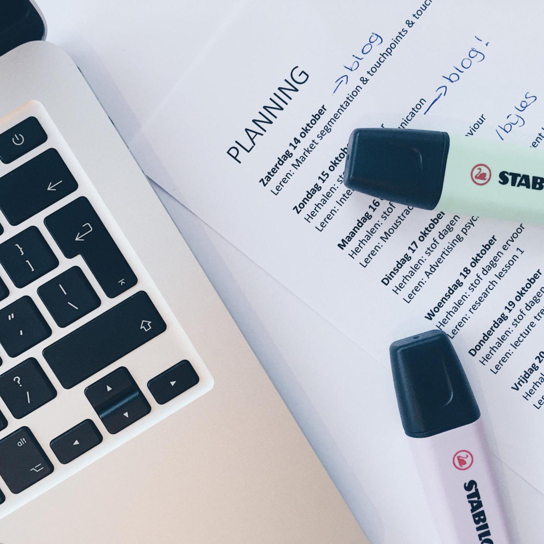 Studeren met een beperking: leren voor tentamenweek