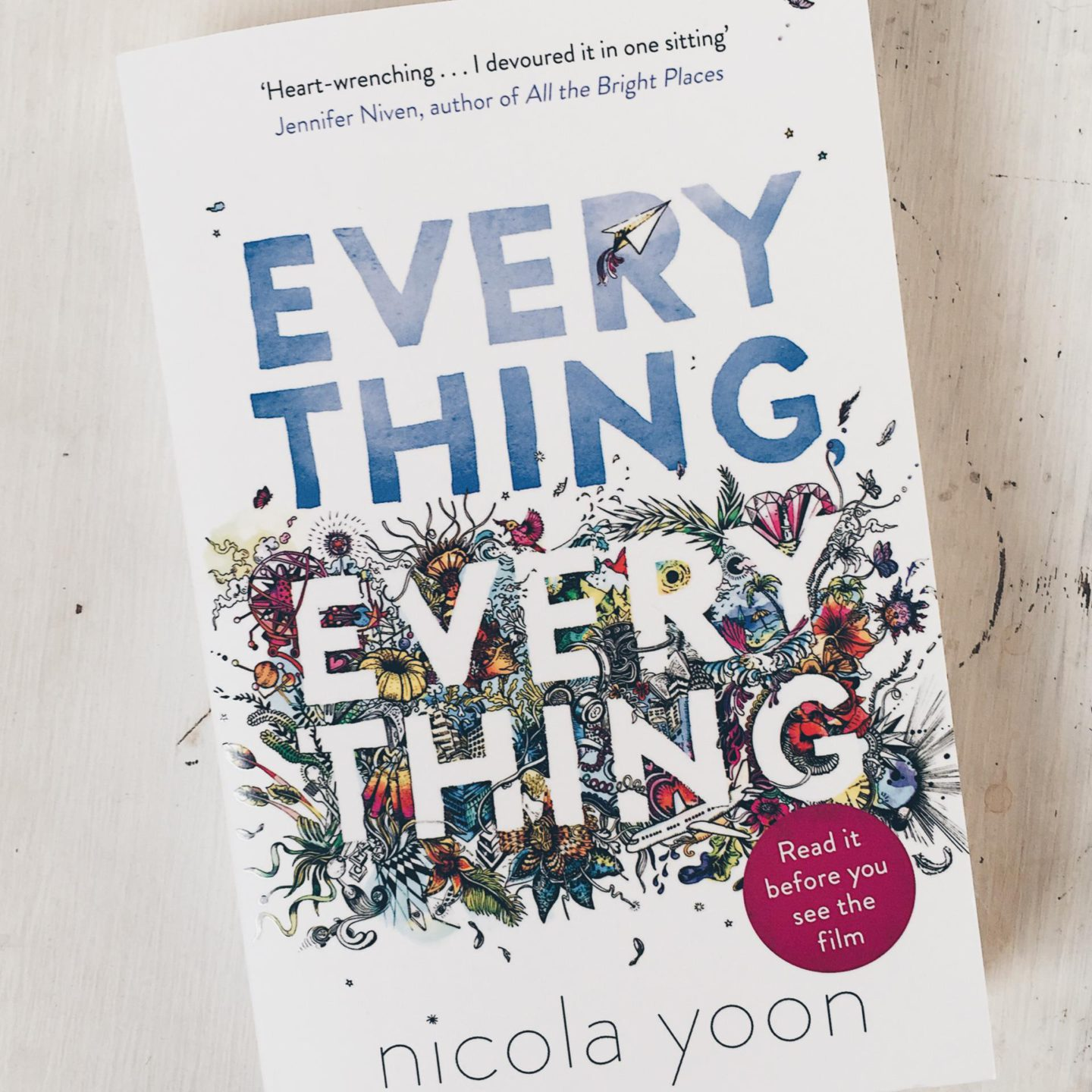 Fenna's BOEKCLUB: Everything Everything, Nicola Yoon #4