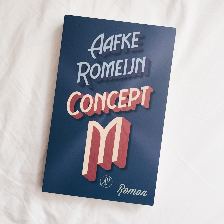 Review: Concept M debuutroman van Aafke Romeijn