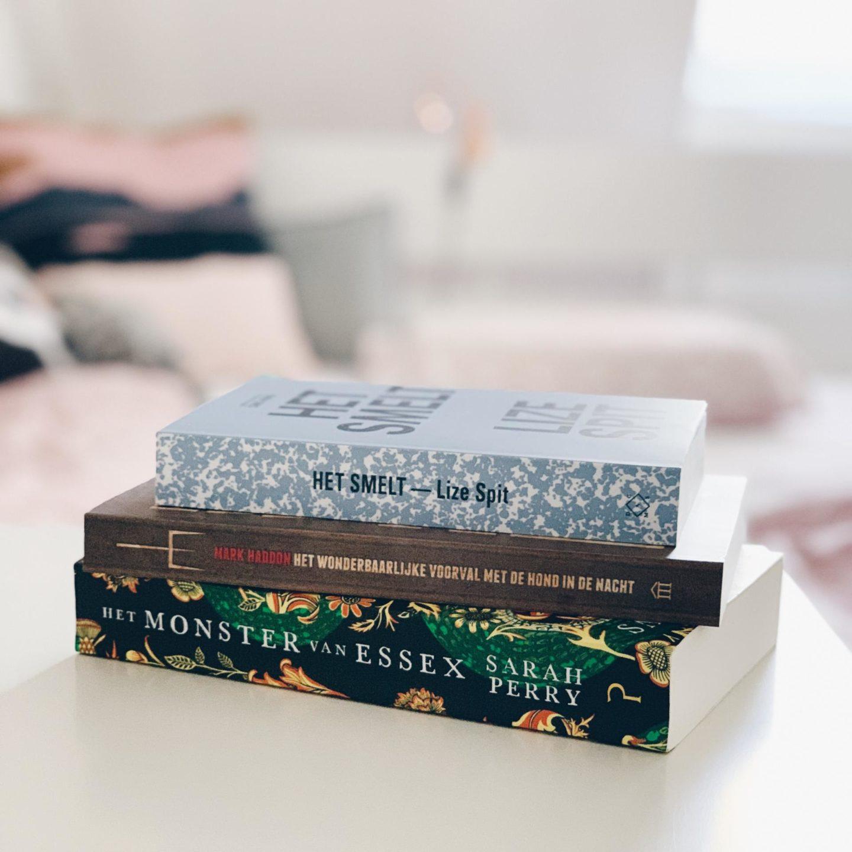 Gelezen boeken in oktober 2018 & met onder andere het boek Het Smelt