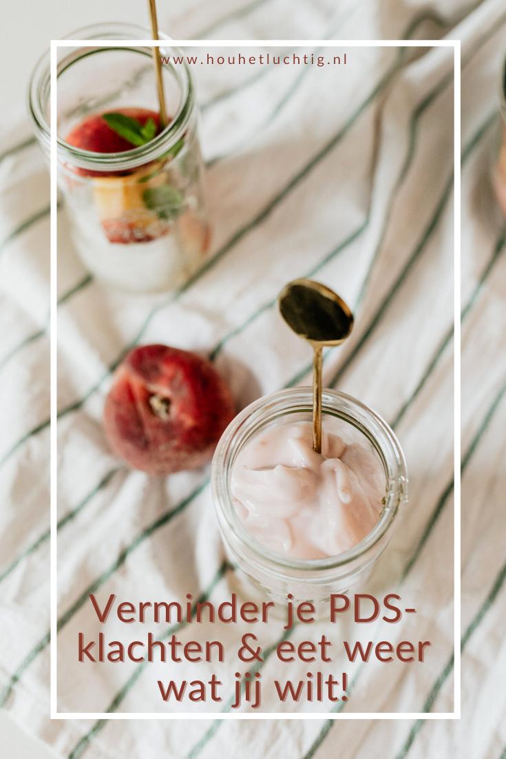 PDS-klachten verminderen