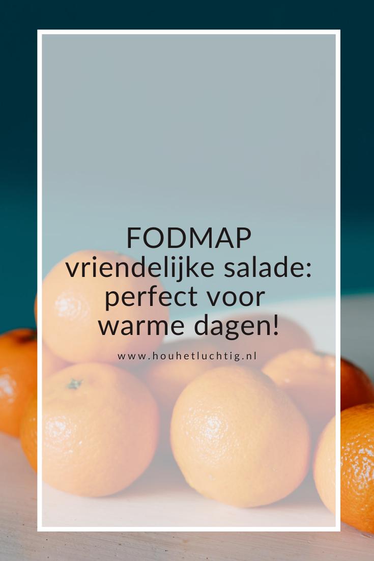 FODMAP vriendelijke salade: perfect voor warme dagen