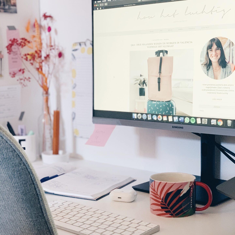 Hoe maak je de perfecte werkplek voor thuis & zorg je voor de juiste houding?