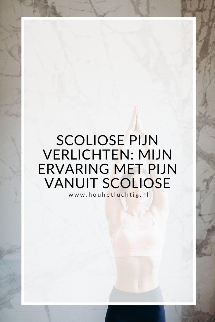 Scoliose pijn verlichten