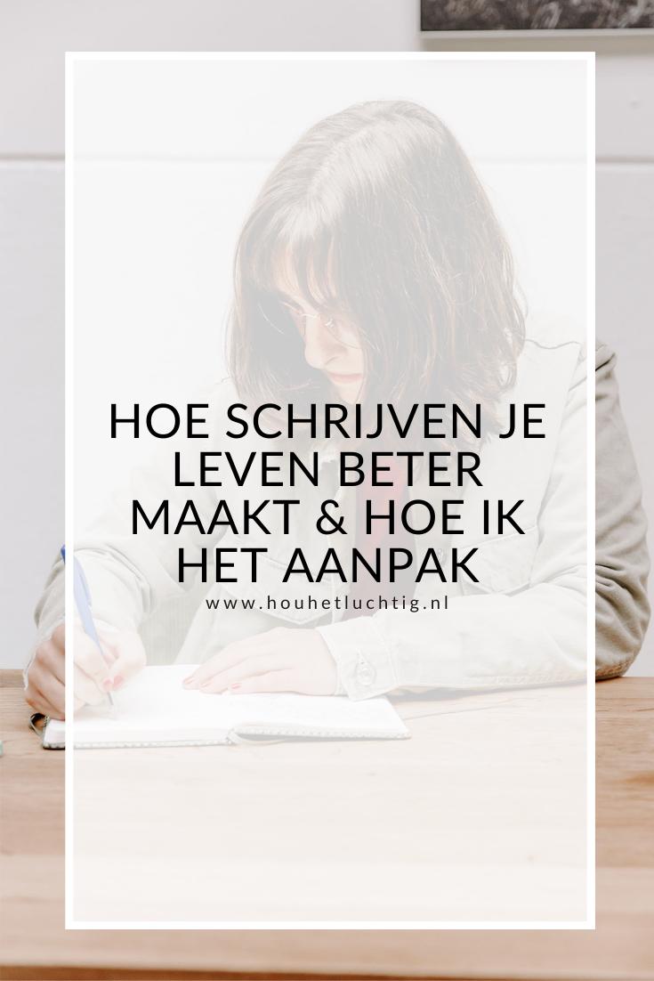 schrijven je leven beter maakt