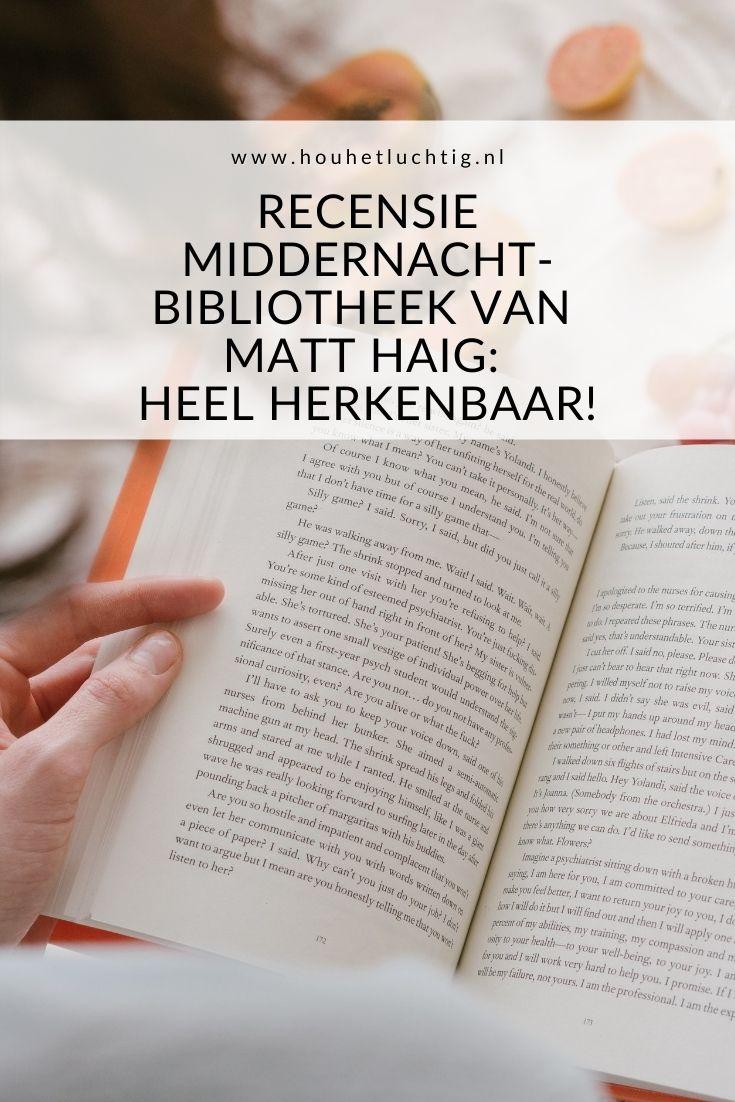 recensie Middernachtbibliotheek